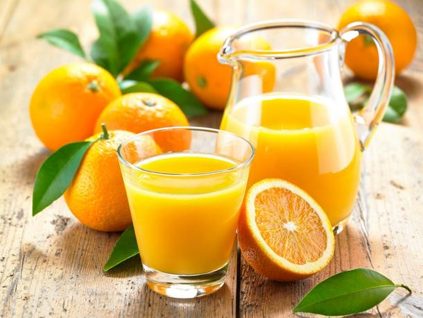 Морс апельсиновый